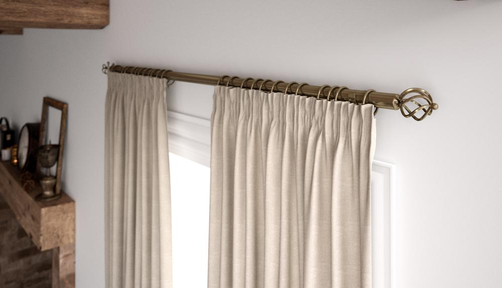 Rails and Poles | Stock Blinds